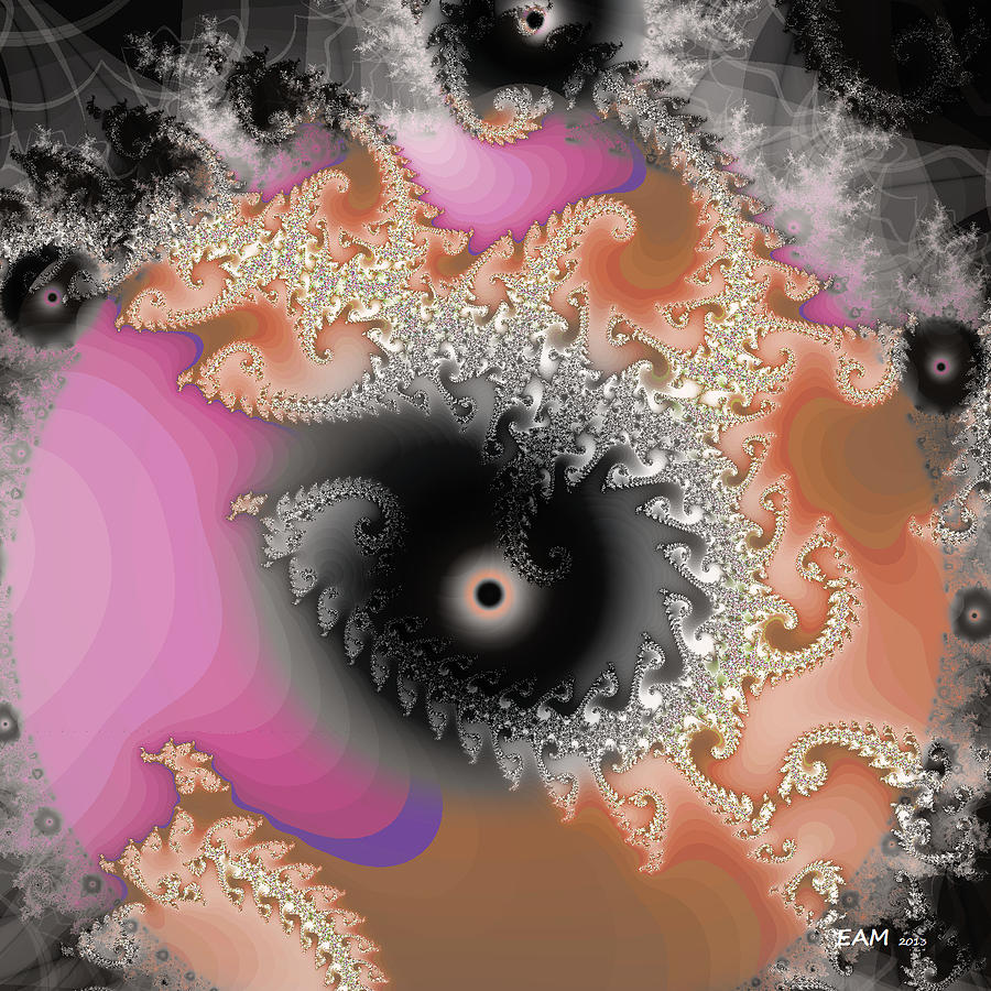 Imagery Digital Art - Meditation Instruction by Elizabeth McTaggart