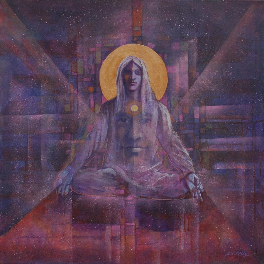 Meditation Painting - Meditation by J W Kelly