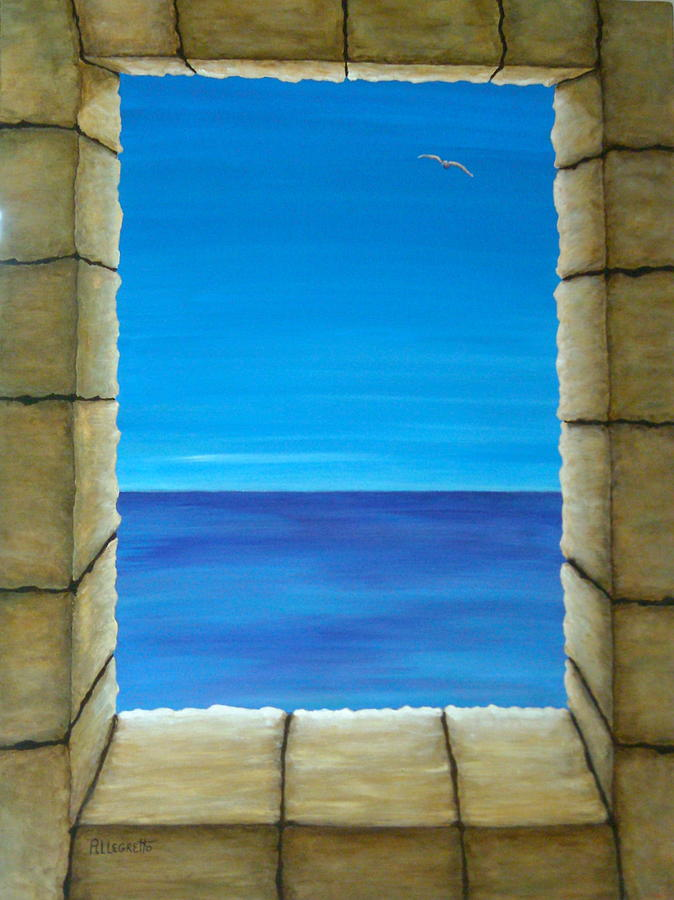 Trompe L'oeil Painting - Meditation by Pamela Allegretto