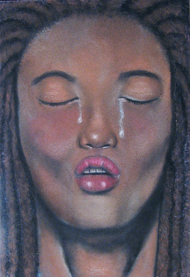Mediation Pastel - Meditation by Patrick Carrington