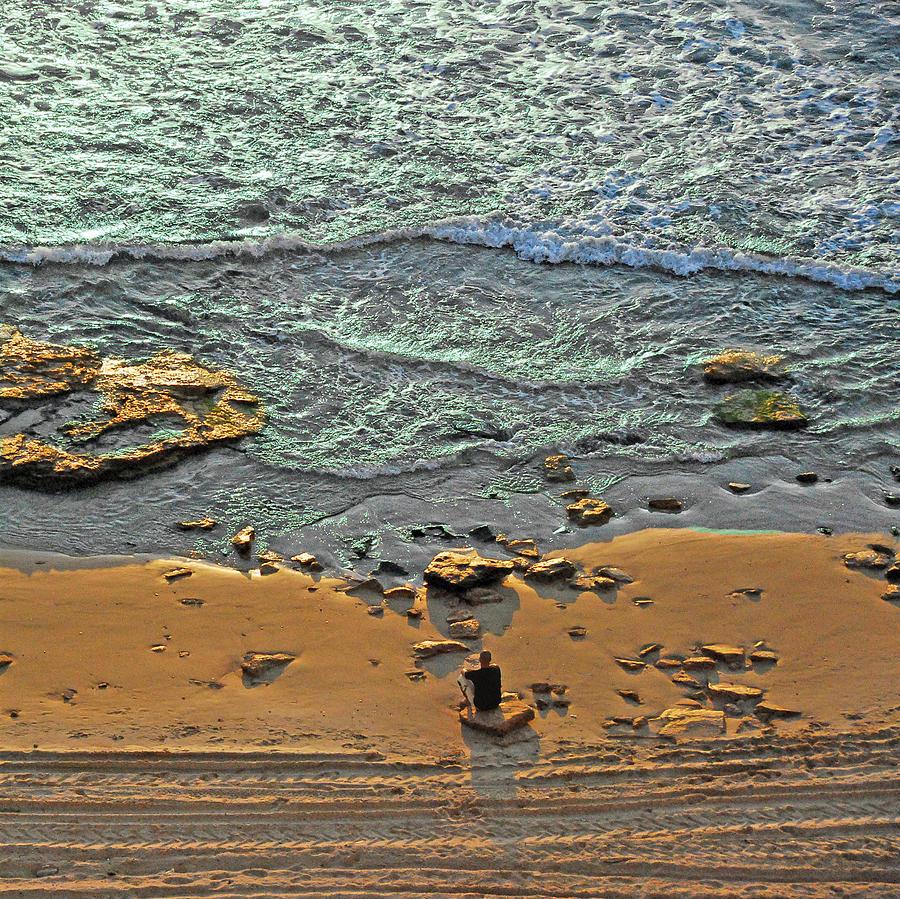 Israel Photograph - Meditation by Ron Shoshani