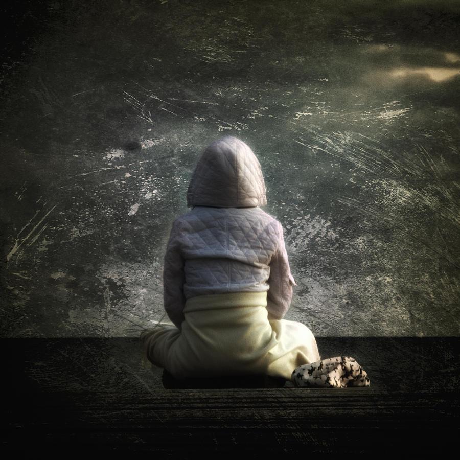 Back Photograph - Meditation by Stelios Kleanthous
