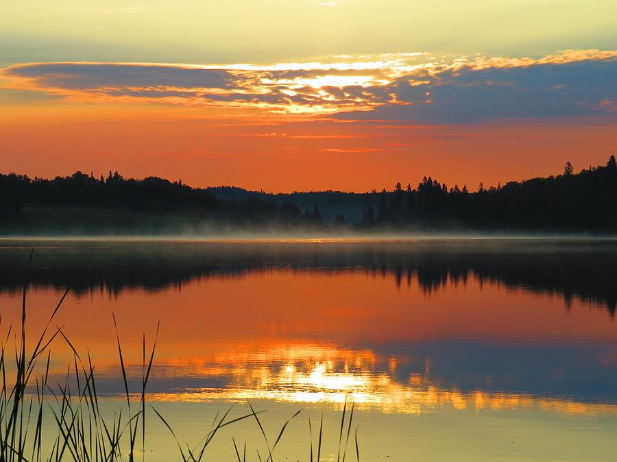 Meditation Sunrise Photograph by Alex  Call