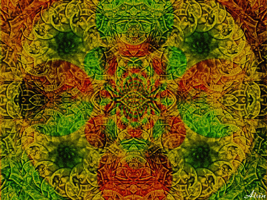 Meditation Painting - Meditate by Withintensity  Touch