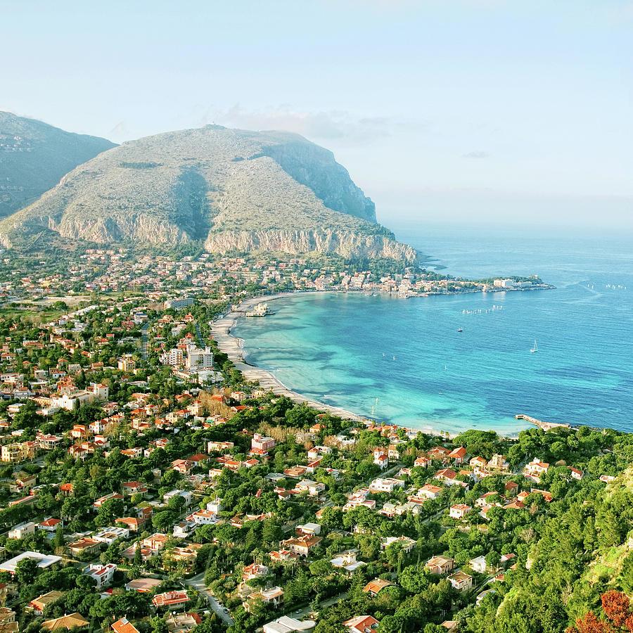 Mediterranean View Photograph by Peeterv