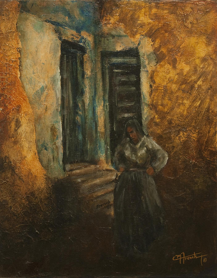 Figure Paintings Painting - Mediterranian Light by C Michael French