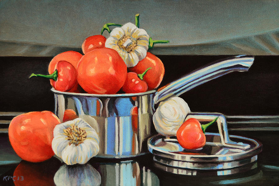 Still Life Painting - Medley by Kenneth Cobb