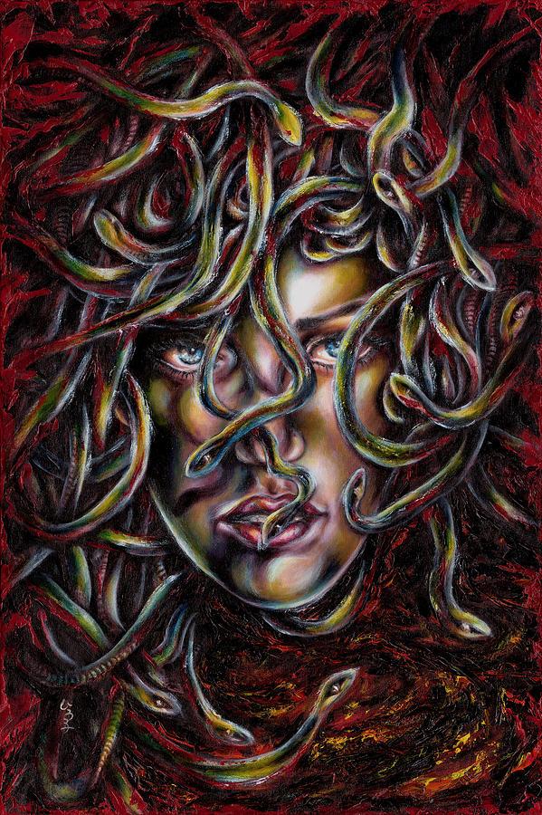Medusa Painting - Medusa No. three by Hiroko Sakai