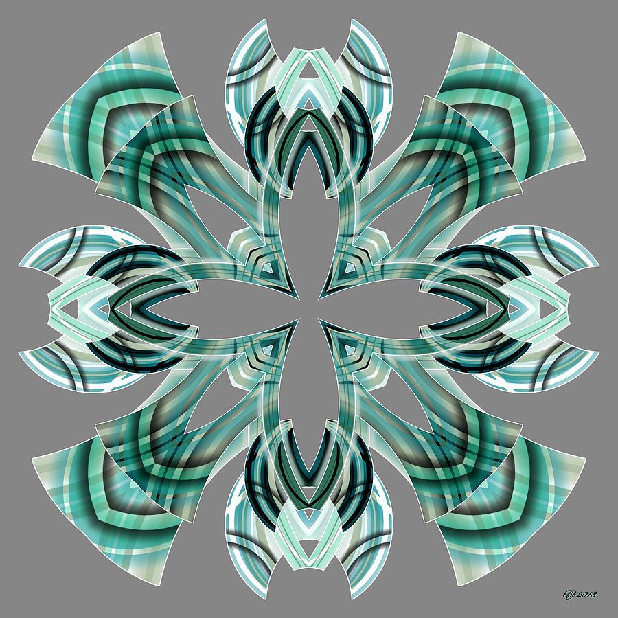 Abstract Digital Art - Meeting 15 by Brian Johnson