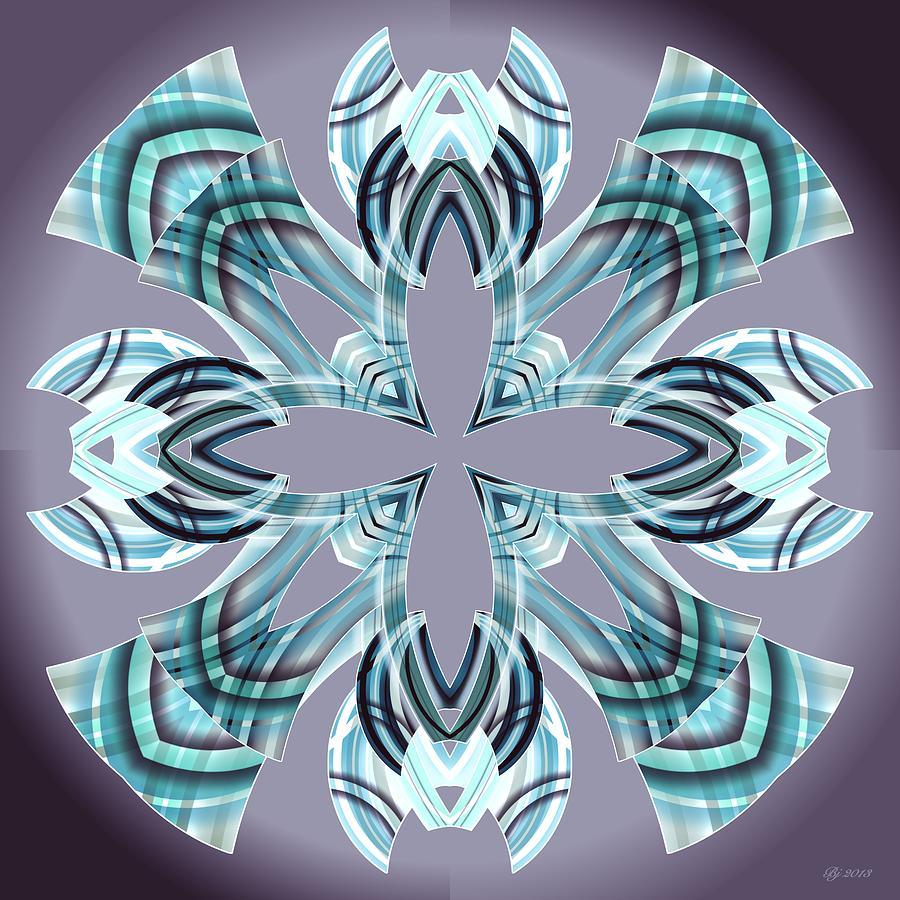 Abstract Digital Art - Meeting 17 by Brian Johnson