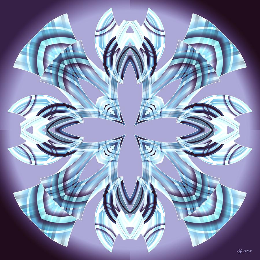 Abstract Digital Art - Meeting 18 by Brian Johnson