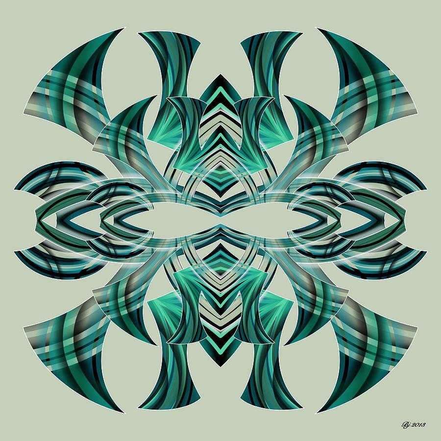 Abstract Digital Art - Meeting 5 by Brian Johnson