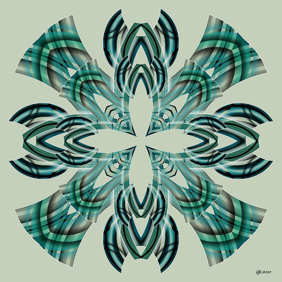 Abstract Digital Art - Meeting 7 by Brian Johnson