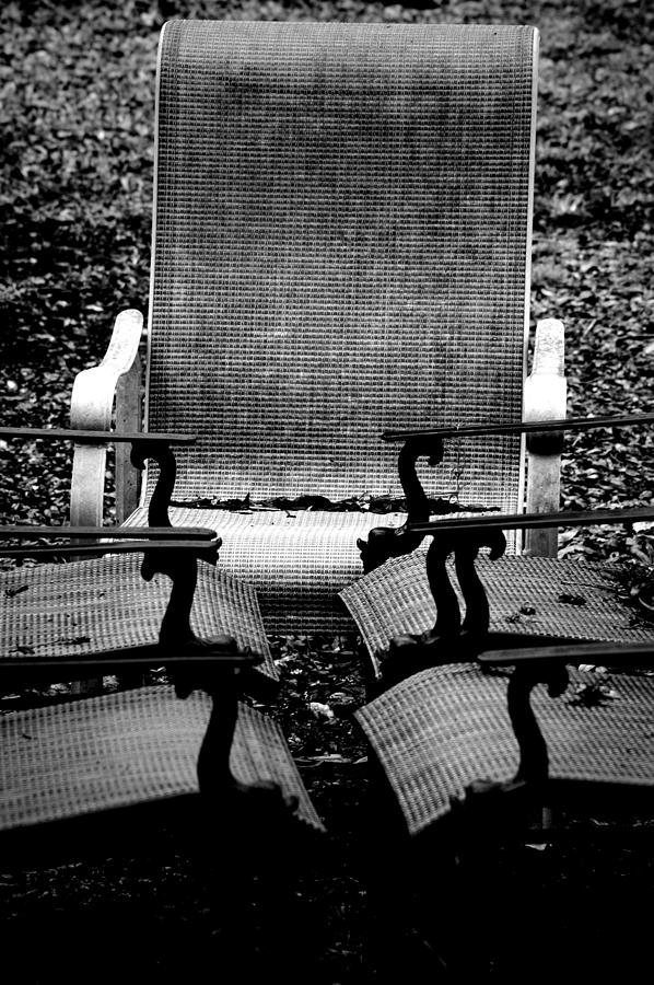 Chair Photograph - Meeting Adjourned by David Weeks