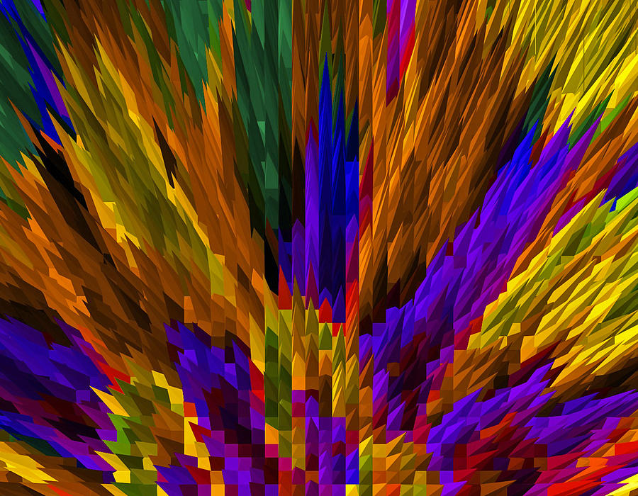 Colored Pencils Photograph - Meeting Of The Colored Pencils by James Hammen