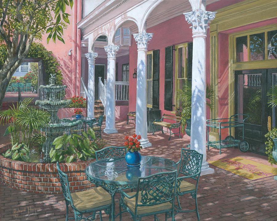 Painting Painting - Meeting Street Inn Charleston by Richard Harpum