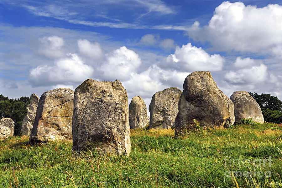 Megalith Photograph - Megalithic Monuments In Brittany by Elena Elisseeva