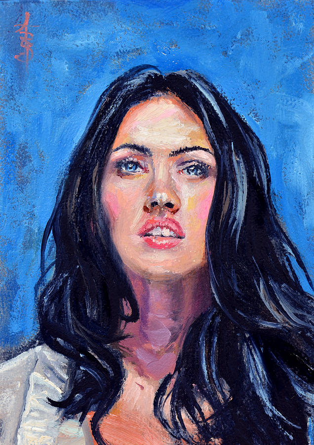 Megan Painting - Megan by Anthony Sell