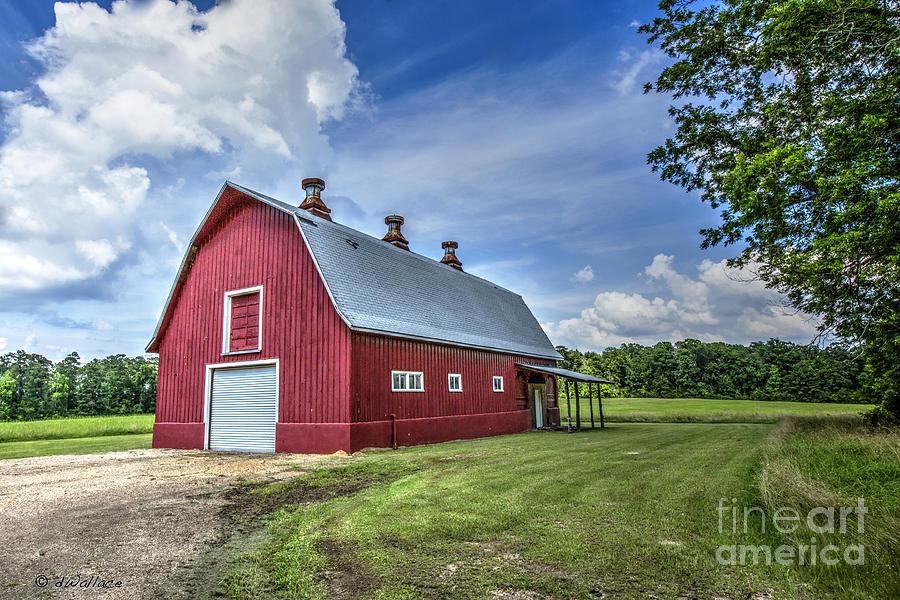 Barn Photograph - Megans Barn by D Wallace