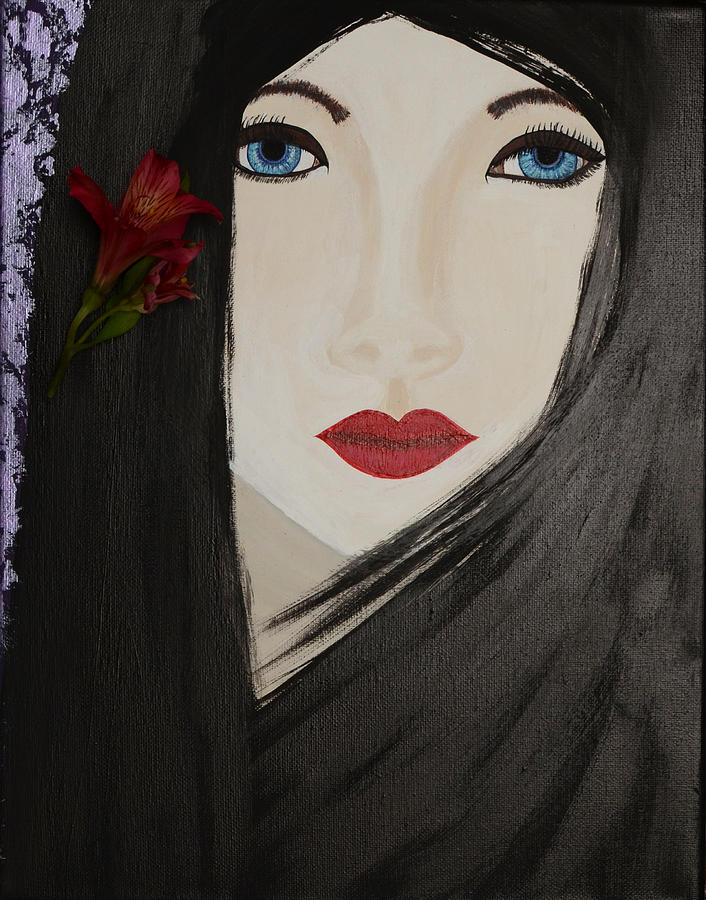 Meiko Painting by Artists With Autism Inc