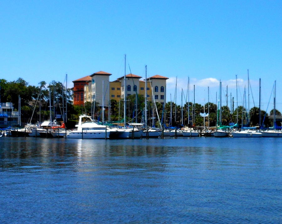 Harbor Photograph - Melbourne Harbor by Kay Gilley