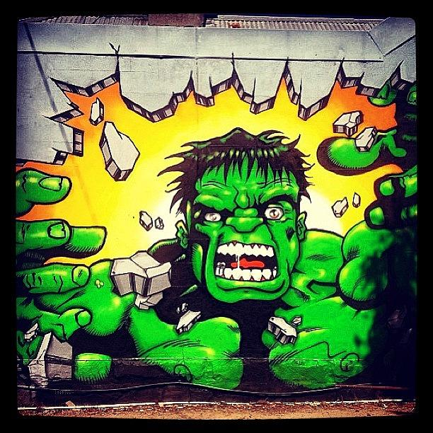 Streetart Photograph - #melbournev#streetart #brunswick by Katie Ball