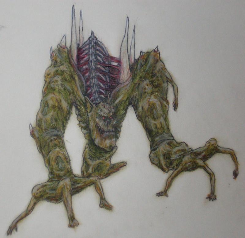 Legacy Of Kain Drawing - Melchiah by Steve Spagnola