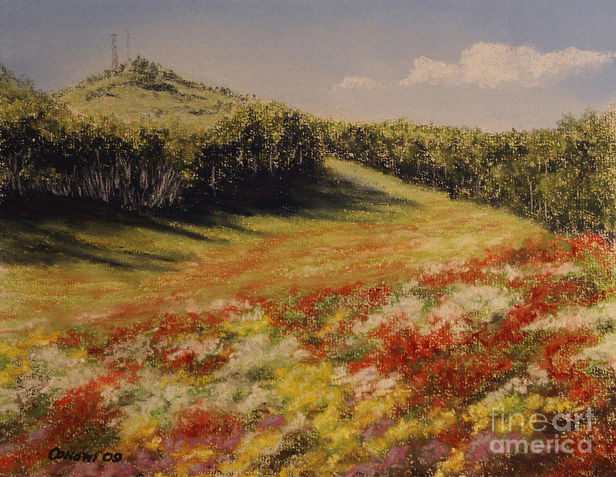 Summer Landscape Painting - Melkow Trail  by Stanza Widen
