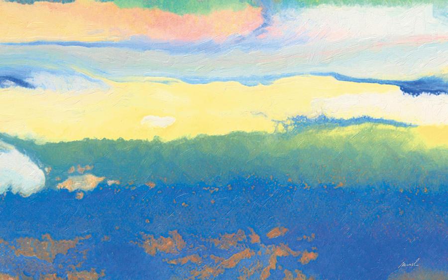 Serene Painting - Mellow Light by The Art of Marsha Charlebois