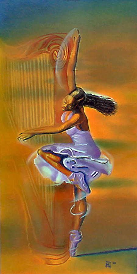 Fli Painting - Melody Meridian by  Fli Art