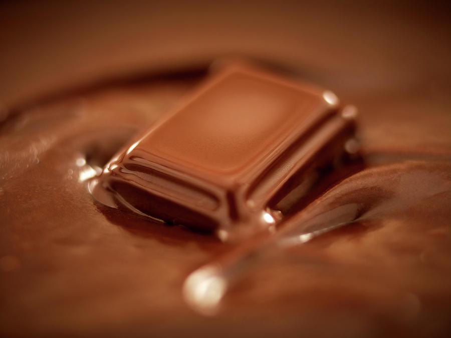 Melting Chocolate Photograph by Adam Gault