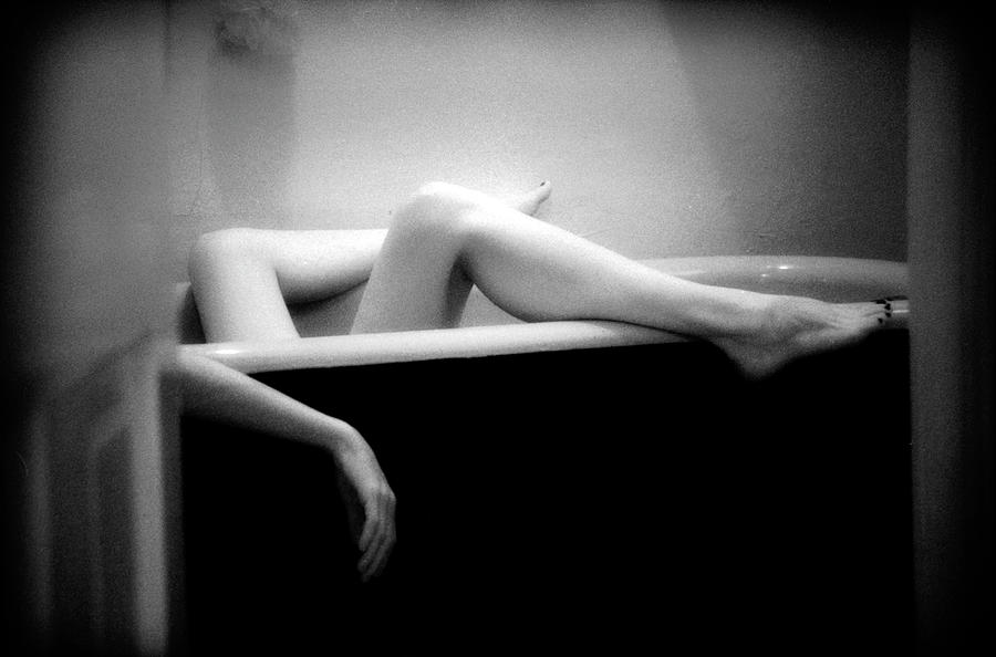 Female Nude Photograph - Melting by Lindsay Garrett