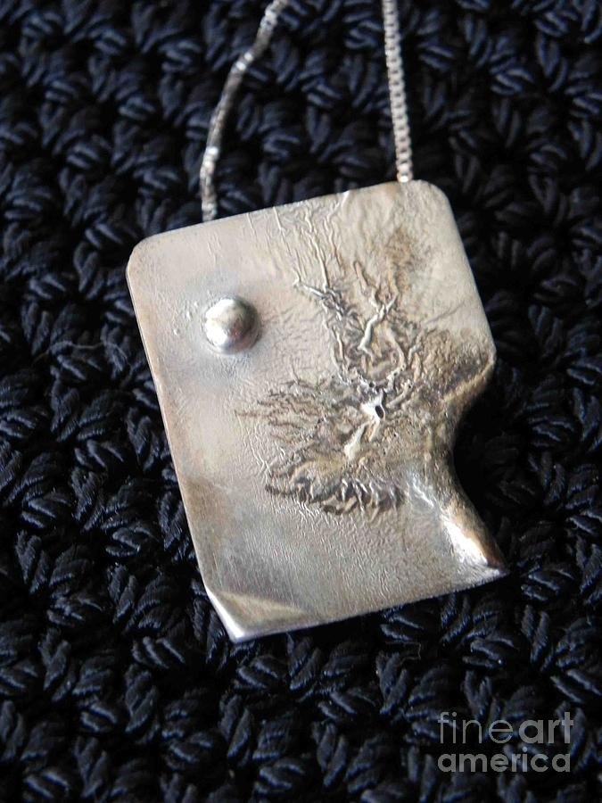 Pendant Jewelry - Melting Silver by Patricia  Tierney