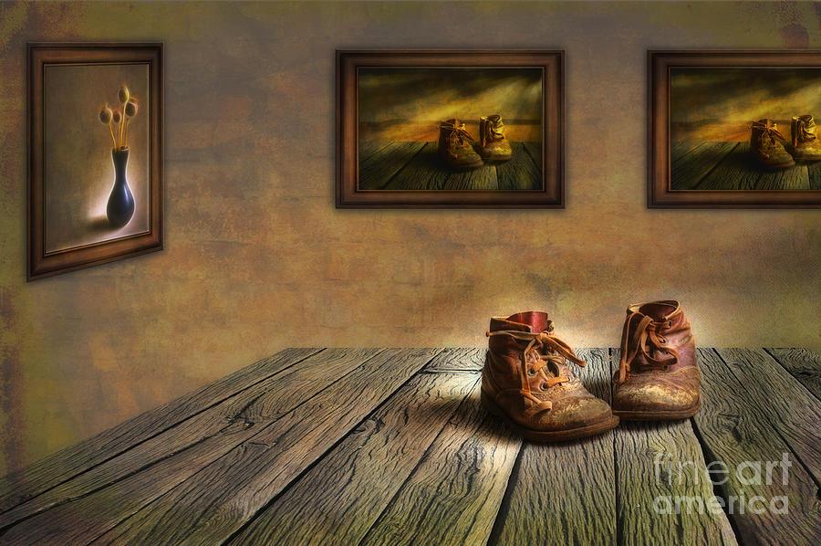 Artist Photograph - Mementos Exhibition by Veikko Suikkanen