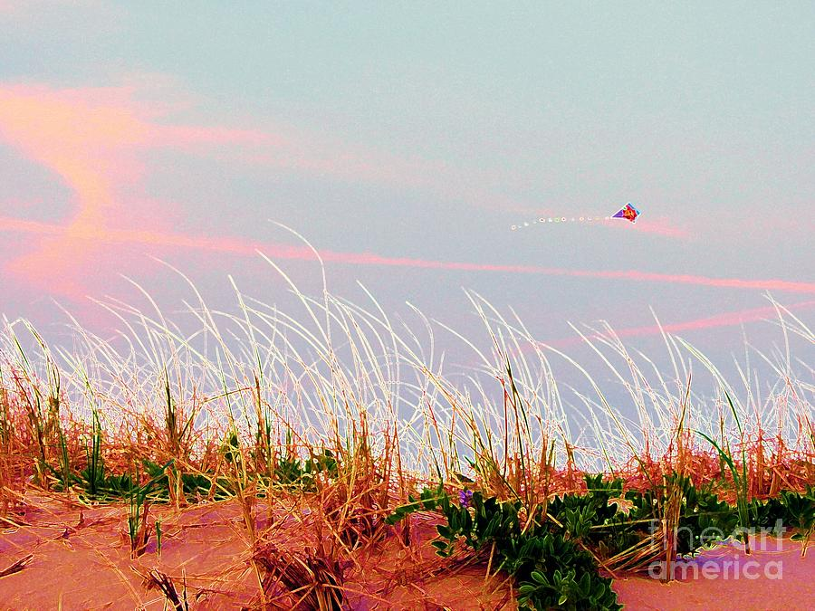 Dunes Photograph - Memorial Day By The Sea by Susan Carella