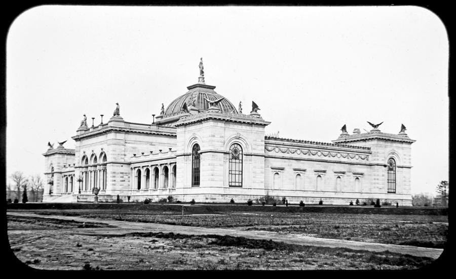 Memorial Hall Centennial International Exposition 1877 Photograph