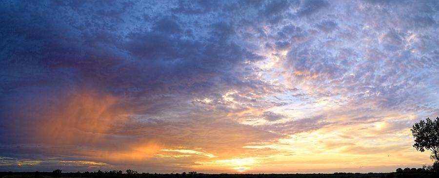 Panoramic Photograph - Memorial Morning by Bonfire Photography