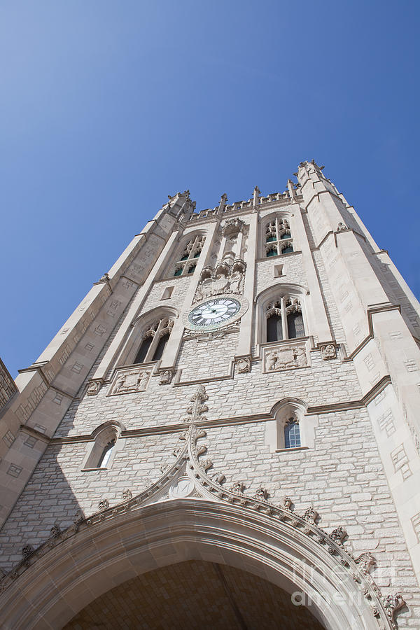Mizzou Photograph - Memorial Union Clock Tower by Kay Pickens