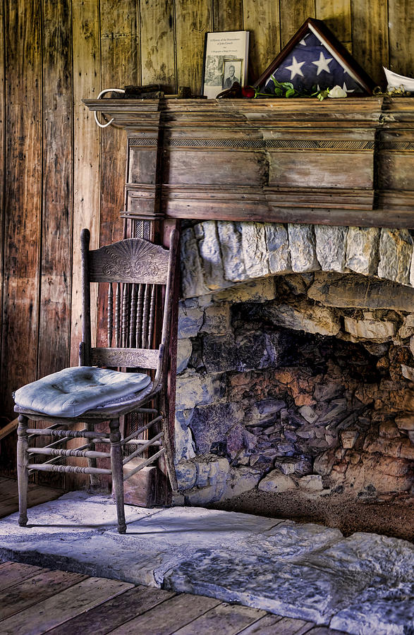 Fireplace Photograph - Memories by Heather Applegate