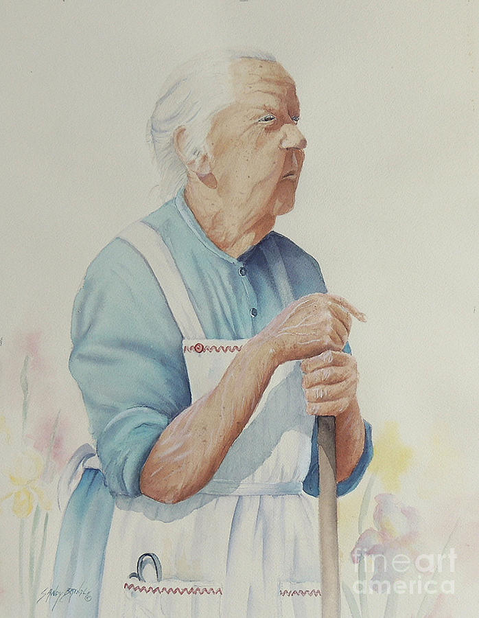 Memories of Granny Clapp by Sandy Brindle