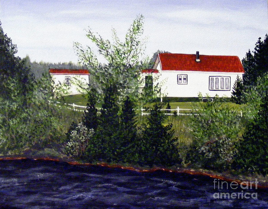 Memories Of Home Painting - Memories Of Home  by Barbara Griffin