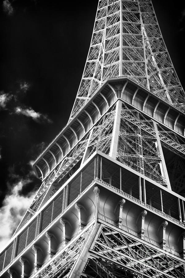 Memories Photograph - Memories Of The Eiffel Tower by John Rizzuto
