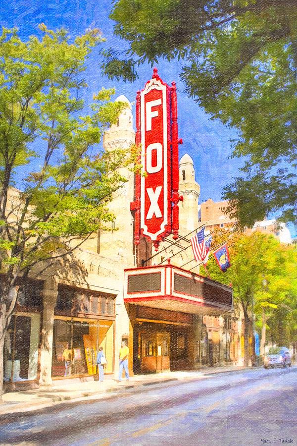 Atlanta Photograph - Memories Of The Fox Theatre by Mark E Tisdale