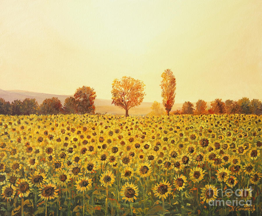 Agriculture Painting - Memories Of The Summer by Kiril Stanchev