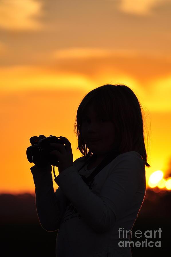 Sun Photograph - Memories Sunlit Oracle by Coralie Plozza