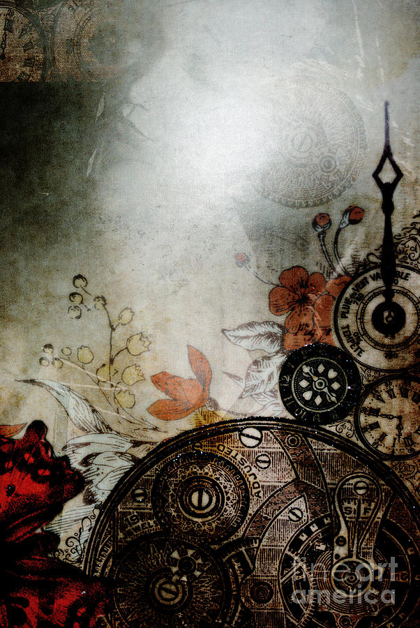 Steampunk Photograph - Memories Unlocked by Sharon Coty