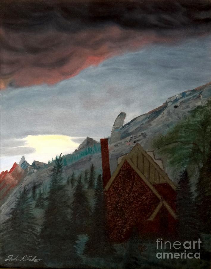 Jonbenet Ramsey Painting - Memory Of Jonbenet Ramsey by Stephen Schaps