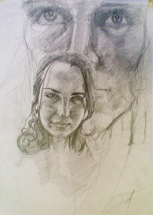 Drawing - Memory by Vaidos Mihai