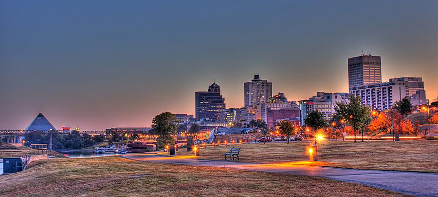 Cityscape - Skyline - Memphis at Dawn by Barry Jones