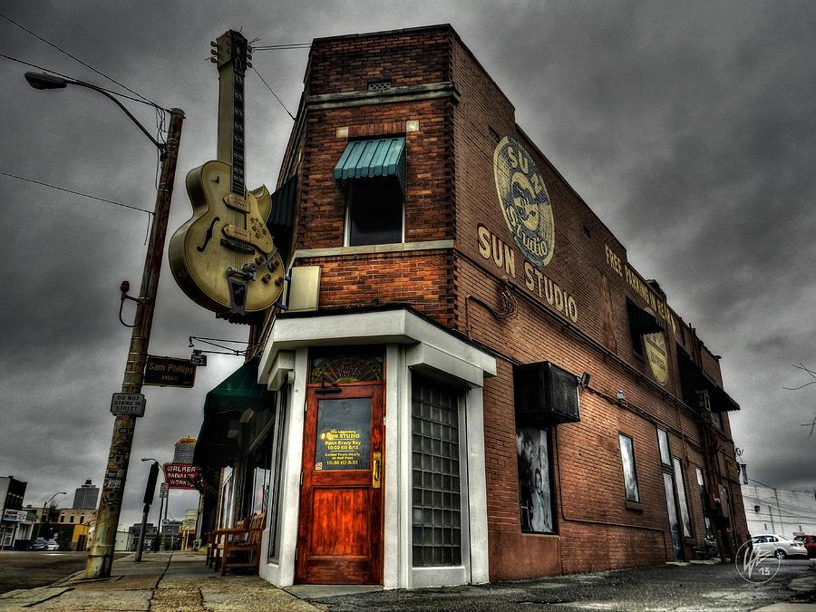 Sun Studio Photograph - Memphis - Sun Studio 002 by Lance Vaughn